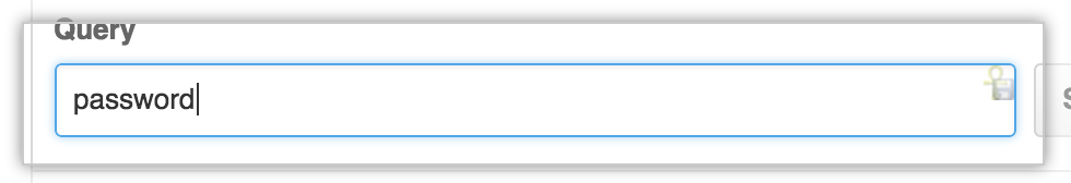 Search query