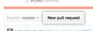 Pull Request button