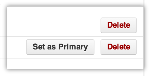 Set as primary button