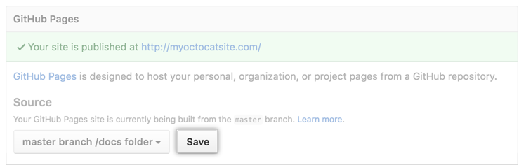 click-save-next-to-master-branch-docs-folder-source-selection