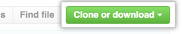 Clone or download button