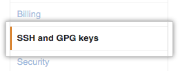 Authentication keys