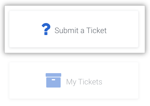 Submit a ticket to Enterprise Support team
