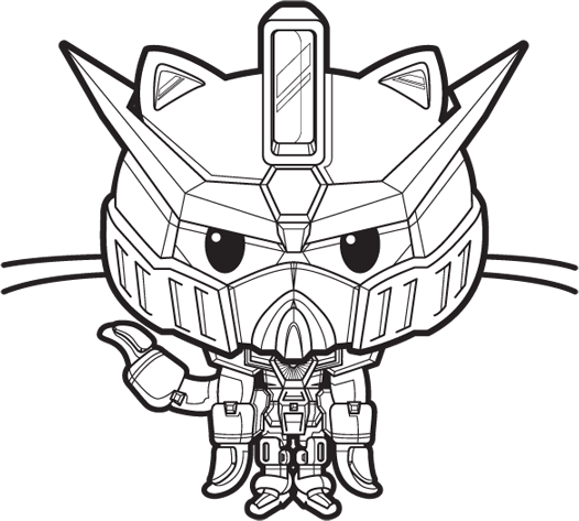 The Gundamcat