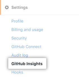 GitHub Insightsタブ