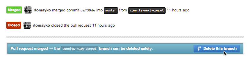 git delete local branches not on remote